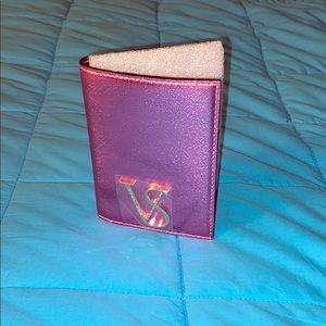 Victoria's Secret Pink Metallica Passport Case ✈️